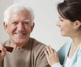 senior parents caring
